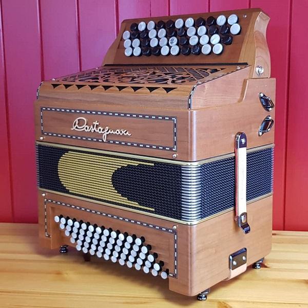 accordéon chromatique castagnari Magica K3 La Boite à Bretelles
