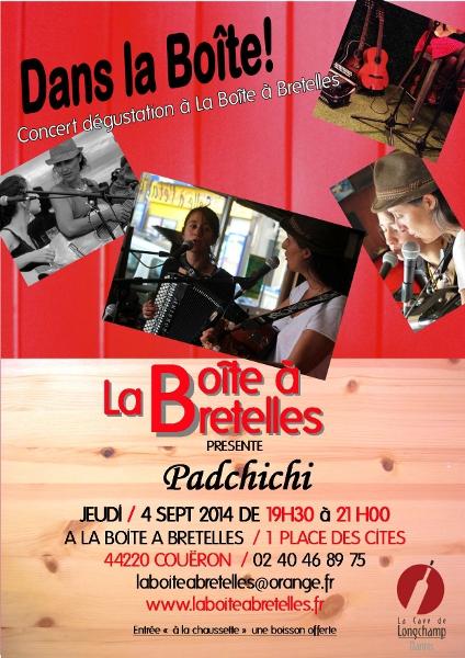 concert dans la boite Padchichi