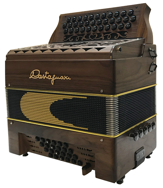 Accordéon diatonique Castagnari Handry 24/34/3 type 2